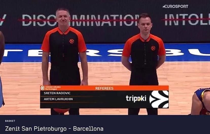 Un match d'Euroleague pas comme les autres …