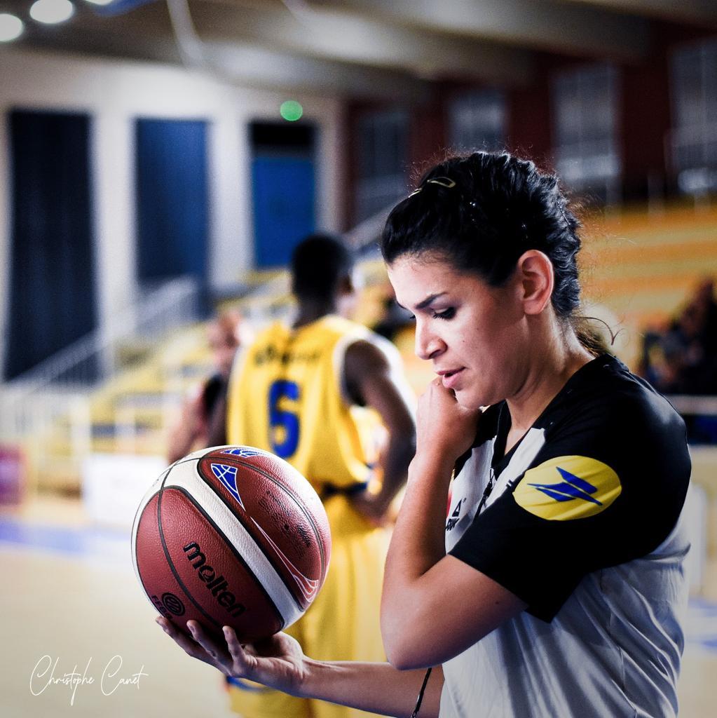 Amel Dahra au Final Four de l'EuroLeague Women !