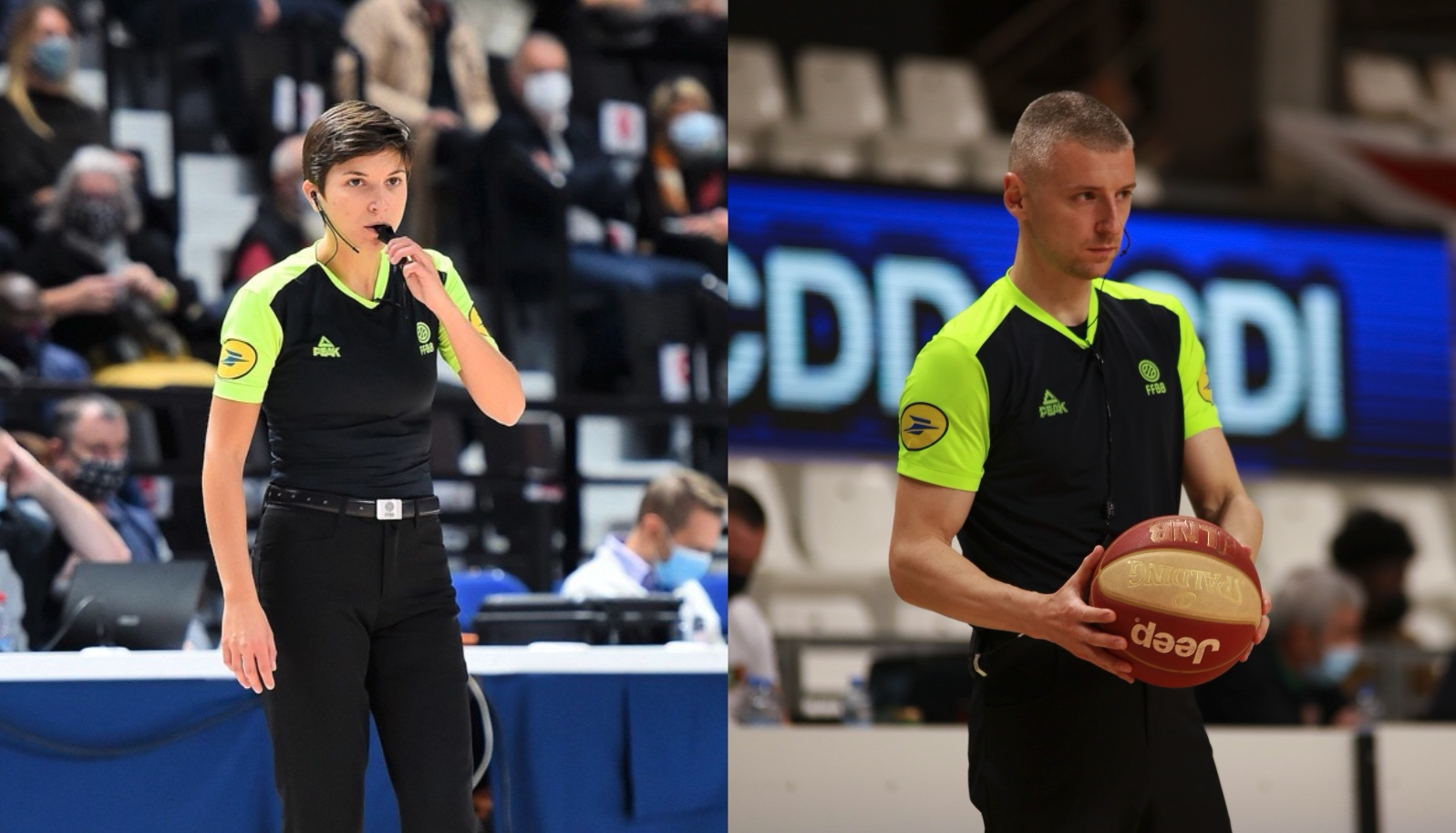 Marion Ortis et Thomas Bissuel sélectionnés sur l'EuroBasket Féminin 2021 !