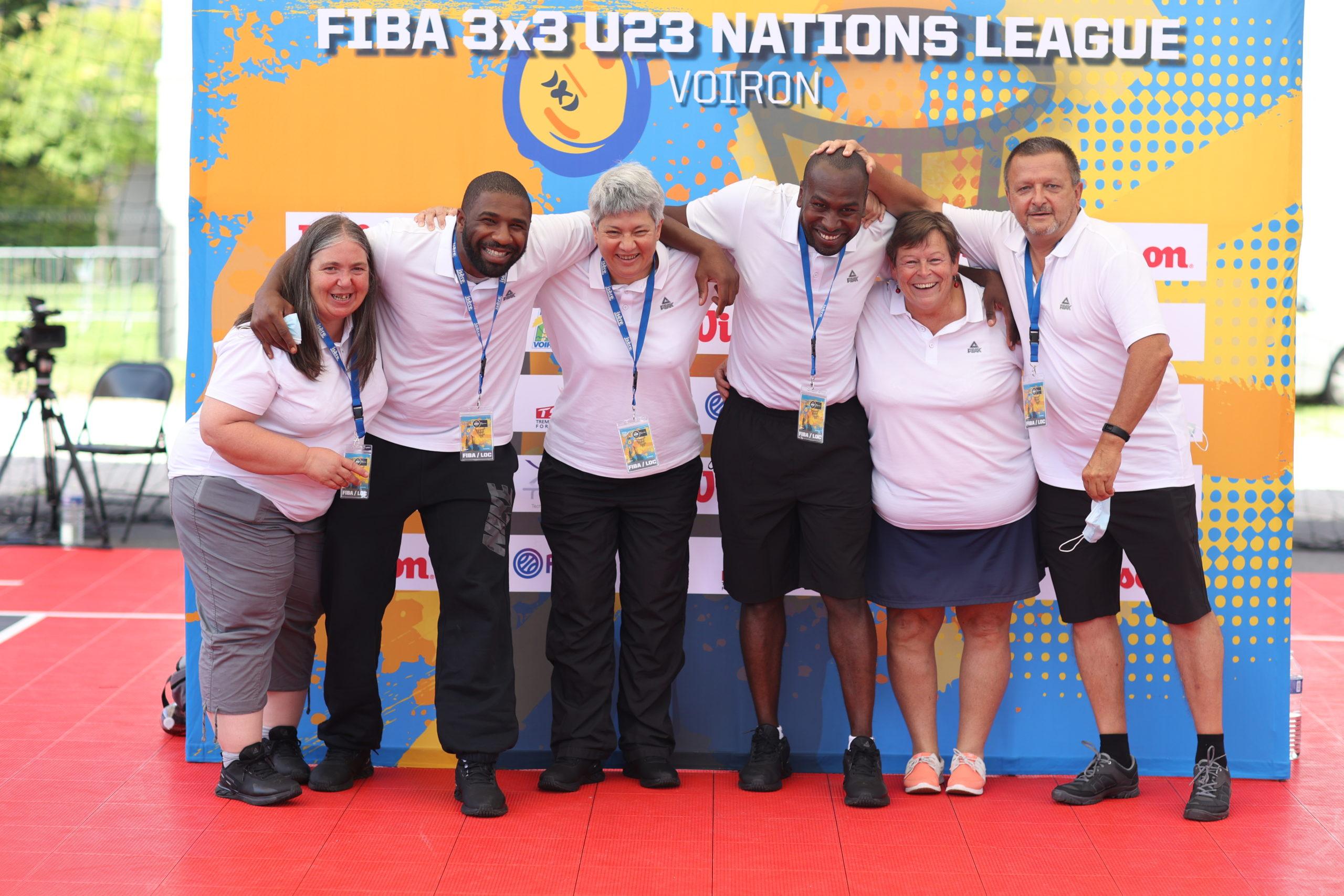 Coupe d'Europe 3×3 : Corinne Taeye et sa bande de marqueurs présents au Trocadéro !
